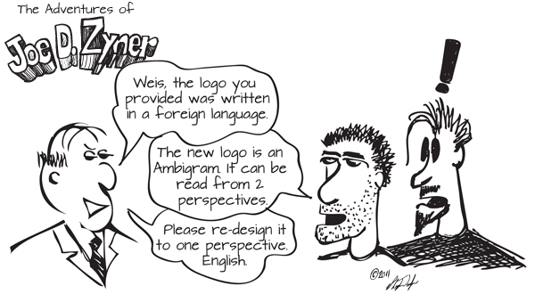 3-16-11 comic designer ambigrams