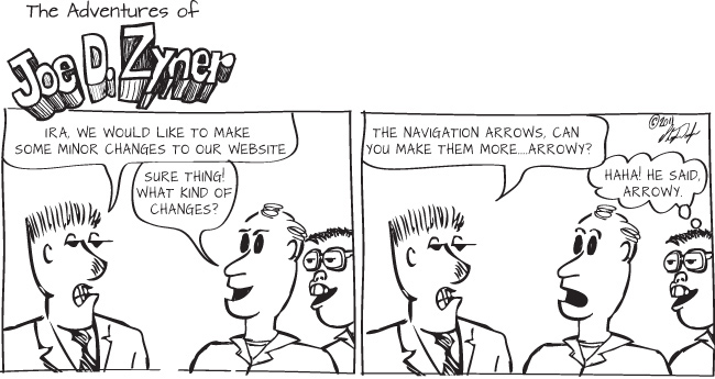 navigation arrows arrowy nerds geeks website code comic